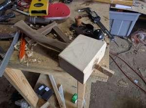 The assembled hammer